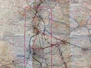 ww1 map