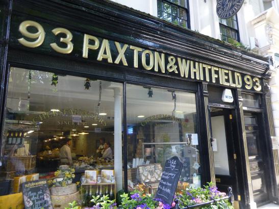 Britain's oldest cheesemonger
