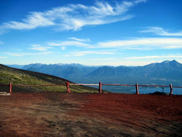 Quelque part entre le Chili et l'Argentine