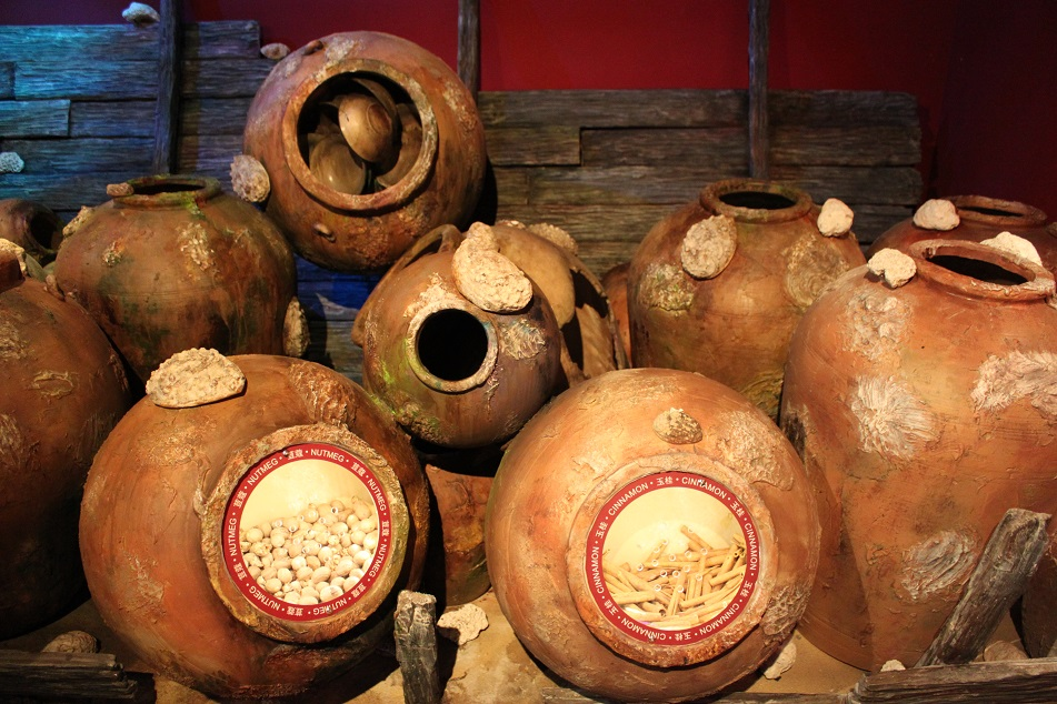 Nutmeg and Cinnamon in Hong Kong Maritime Museum